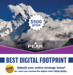 Event of the Year Best Digital Footprint Peak Brokerage
